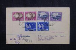 AFRIQUE DU SUD OUEST - Enveloppe FDC En 1947 Pour Johannesburg - L 69334 - Südwestafrika (1923-1990)