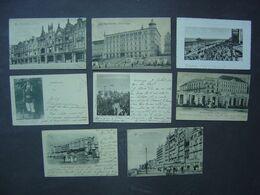 Blankenberge - Lot De 8 Cartes Anciennes - Divers Endroits - Digue - Hôtels - Blankenberge