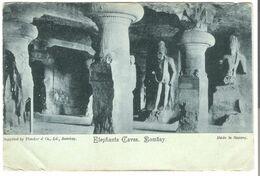 Elephanta Caves - Bombay V. 1912 (4399) - Indien