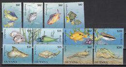 Guyana 1995 - Mi.Nr. 5231 - 5260 - Postfrisch MNH - Tiere Animals Fische Fishes - Fische