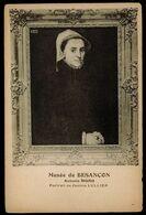 CPA 25 MUSEE DE BESANCON ANTONIO MORO PORTRAIT DE JEANNE LULLIER EXPOSITION D'ART APPLIQUE BESANCON 1905 - Besancon