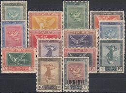 ESPAÑA 1930 Nº 517/530 NUEVO - 1889-1931 Royaume: Alphonse XIII