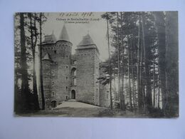 CPA  42  Chateau De Noirétable (Entrée Principale) 1916 TBE - Noiretable