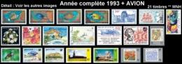 WALLIS ET FUTUNA Année Complète 1993 + AVION PA176 à 178 - Yv. 444 à 461 + PA 176 à 178 **    - 21 Tp  ..Réf.W&F23087 - Années Complètes