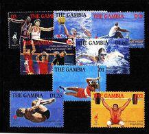 Olympics 1996 - Basketball - Weightlifting - GAMBIA - Set 8v MNH - Ete 1996: Atlanta