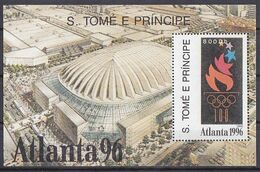 Olympics 1996 - Torch - SAO TOME - S/S MNH - Summer 1996: Atlanta