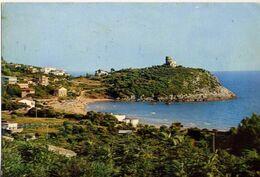 Gaeta - Spiaggia Dell'ariana Con Torre Viola E Scogli - I Tre Cani - Formato Grande Viaggiata – E 17 - Latina