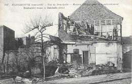 HAZEBROUCK.bombardé Rue De Donckelle - Hazebrouck