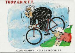 5 CARTES  Illustrateur  Alexandre  TOUS En V.T.T.  Serie Complete - Alexandre