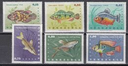 Venezuela 1966 - Mi.Nr. 1676 - 1681 - Postfrisch MNH - Tiere Animals Fische Fishes - Fishes
