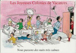 4 CARTES  Illustrateur  Alexandre     Les Joyeuses Colonies De Vacances  ( Série Complete ) - Alexandre