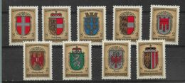AUTRICHE  N°  1351/59 * *   NEUFS SANS CHARNIERE - 1971-80 Neufs