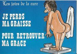 5 CARTES  Illustrateur  Alexandre     Les Joies De La Cure   ( Série Complete ) - Alexandre