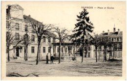 95 SANNOIS - Place Et écoles - Sannois