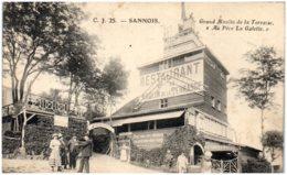 """95 SANNOIS - Grand Moulin De La Terrasse """"Au Père La Galette"""" - Sannois"""