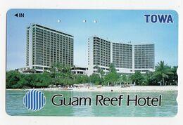 JAPON TELECARTE GUAM REEF HOTEL - Guam