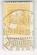N°79 Mooie Afstempeling Liege 25.06.1908 - 1905 Grosse Barbe