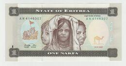 Eritrea 1 Nakfa 1997 P-1a UNC - Eritrea