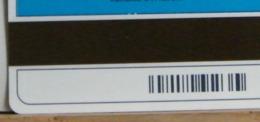 (LT1205) VARIETA' ERRORE - SENZA OCR  - FASCIA ORARIA  USATA C&C N° 1156 N° -- - Errori & Varietà