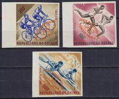 GUINEA 1964, Mi#  239B-241B, Sport, Olympics Tokyo, MNH - Verano 1964: Tokio