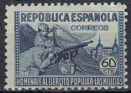 ESPAÑA 1938 Nº 796 NUEVO - 1931-Aujourd'hui: II. République - ....Juan Carlos I