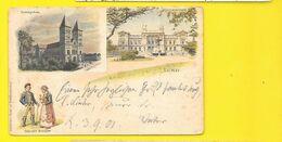 LUND Litho 1901 (Konst) Suède - Schweden