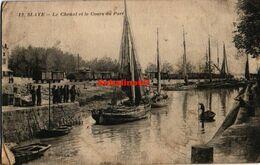 Blaye - Le Chenal Et Le Cours Du Port - 1916 - Blaye