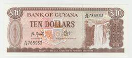 Guyana 10 Dollars 1966 P-23f UNC - Guyana