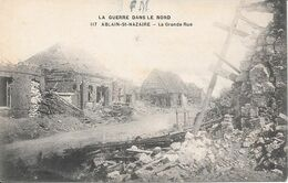 ABLAIN-ST-NAZAIRE.la Grande Guerre. La Grande Rue - France