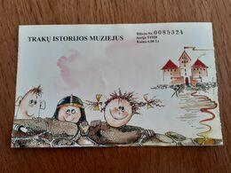 Lithuania Trakai Cstle Museum Ticket 2012 - Tickets - Vouchers