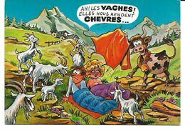 5 CARTES  Illustrateur   Serie   Montagne  (Pin-up A La Montagne) - Contemporanea (a Partire Dal 1950)