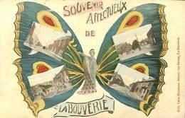 025 968- CPA - Belgique - Souvenir Affevtueux De La Bouverie - La Louvière