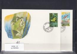 WWF Issue Michel Cat.No. Liechtenstein 967/970 FDC - FDC