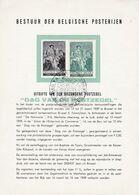 Feuillet Poste 1093 Dag Van De Postzegel Eetdaflegging Van Jean-Baptiste Van Tassis - Documentos Del Correo