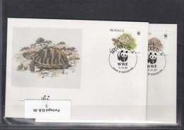 WWF Issue Michel Cat.No.Monaco 2046/2049 FDC - FDC