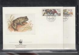 WWF Issue Michel Cat.No. CSSR 3007/3010 FDC - FDC