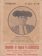 Portugal  -Tauromaquia - Gollegã 1870 - Historische Documenten