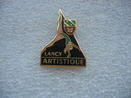 Pin's Gymnastique Artistique à LANCY En Suisse (Canton De Geneve) - Gymnastics