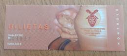 Lithuania Siauliai Ethnic Craft Center Ticket 2020 - Tickets - Vouchers