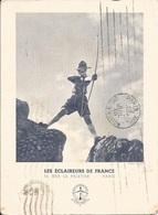 SCOUTISME  /  LES  ÉCLAIREURS  DE  FRANCE  -  PARIS  /  Tir  à L ' Arc  /  Entier  Postal   40c + 60c - Scouting