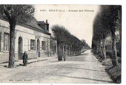 1351 - AILLY (Eure) - Avenue Des Tilleuls - Poste : Recette Auxiliaire - Francia