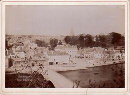 S34-006 Photographie Collée Sur Carton - Hennebont - Vue Générale - Old (before 1900)