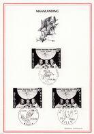 1508 Maanlanding Alunissage Sur La Lune Koksijde Gilly Tilff - Belgium