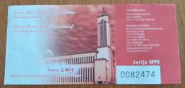 Lithuania Kaunas Basilica Ticket - Tickets - Vouchers