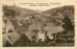 Dep - 23 - AUBUSSON Vue D Ensemble Place Espagne, Les Meris, Cotes Du Mont - Aubusson