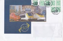 Service S80 SNCB Chemin De Fer Locomotive Train Filatelistisch Centrum - Zonder Classificatie