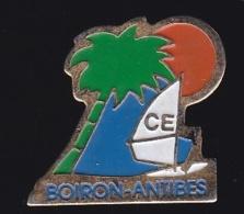 66400- Pin's.laboratoires Boiron De Sophia Antipolis.CE.Antibes. - Cities