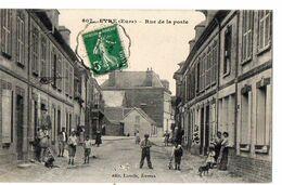 607 EYRE (Eure) - Rue De La Poste - Francia