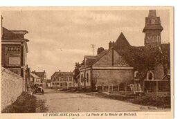 LE FIDELAIRE (Eure) - La Poste Et La Route De Breteuil - Sonstige Gemeinden