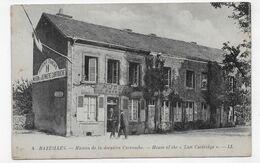 BAZEILLES - N° 4 - MAISON DE LA DERNIERE CARTOUCHE AVEC PERSONNAGES - CPA NON VOYAGEE - Other Municipalities